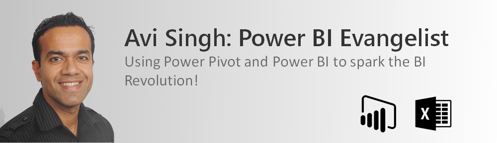 Avi Singh: Power BI Evangelist